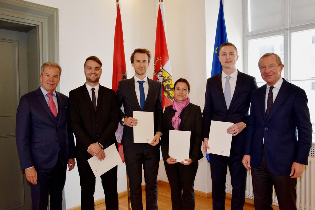 Johannes Pira, Präsident der Kammer der Wirtschaftstreuhänder, Andreas Müller au..