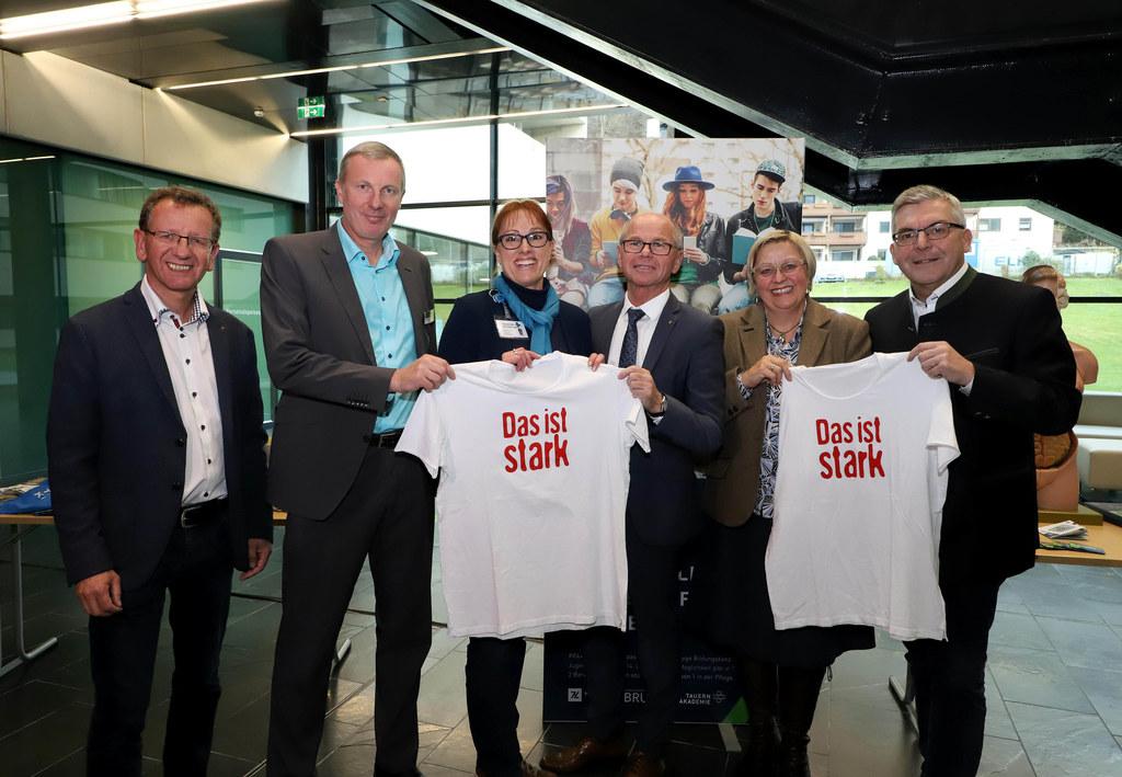 LH-Stv. Christian Stöckl und LR Josef Schwaiger stellten heute die neue Kooperat..