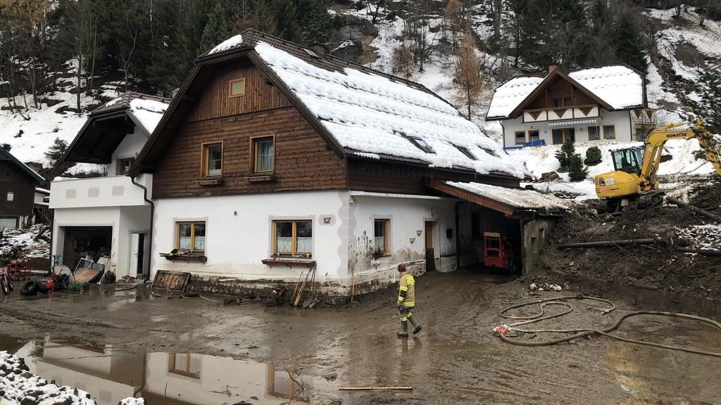 Im Lungau gab es Schäden unter anderem in Muhr.
