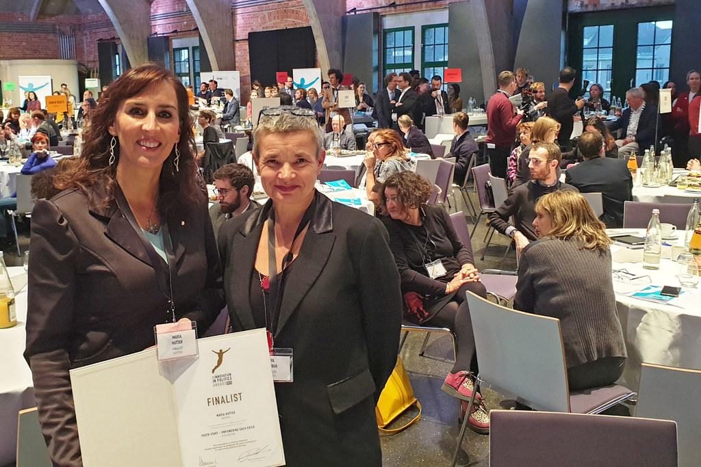 Verleihung der Innovation in Politics Awards  2019 in Berlin: LR Maria Hutter un..