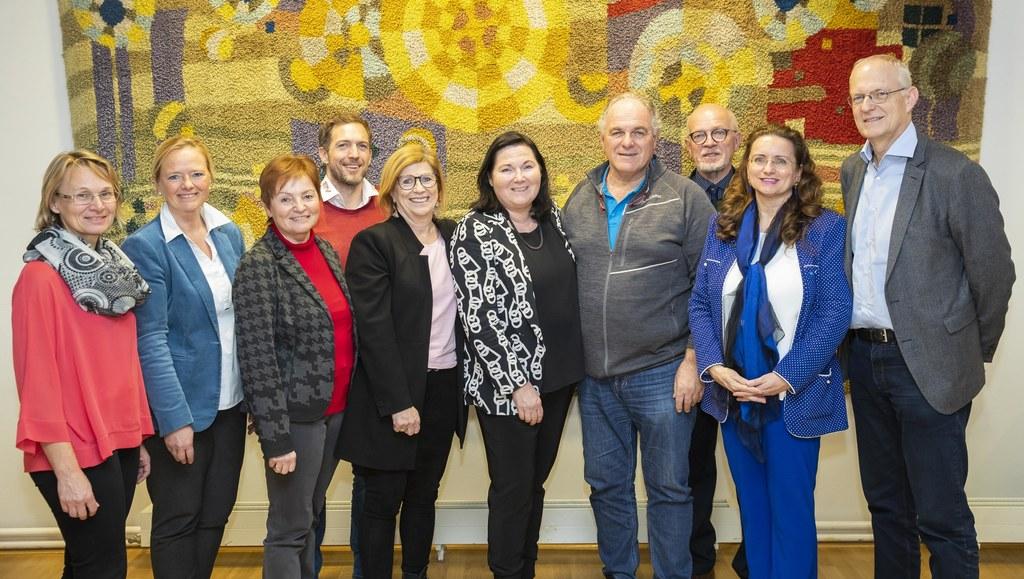 Die Fachverbände wählten ihre Mitglieder für den Landessportrat. Im Bild: Inge W..