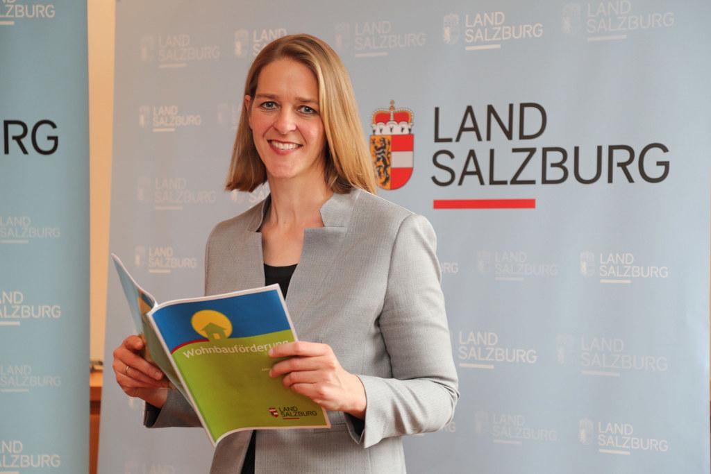 LR Andrea Klambauer: Die Wohnberatung des Landes verzeichnete einen starken Anstieg an Anfragen zur Wohnbeihilfe und Wohnbauförderung.