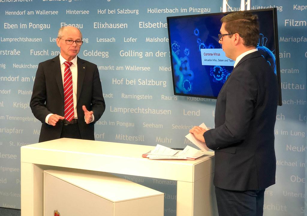 Für Finanzreferent Landeshauptmann-Stellvertreter Christian Stöckl bedeutet die aktuelle Situation einen  finanziellen Kraftakt.