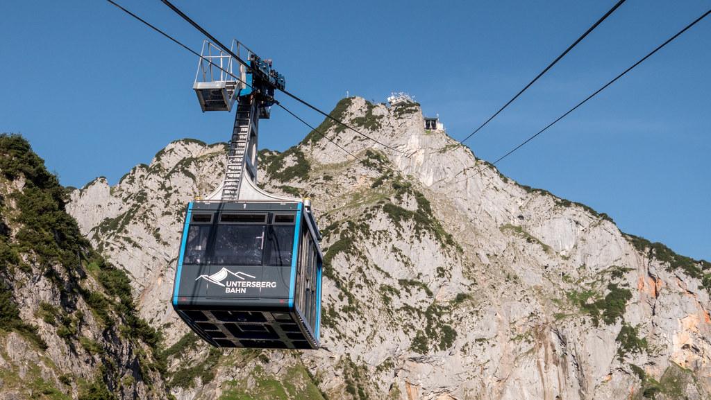 Salzburgs Seilbahnen stehen bis 30. April auf Grund der Corona-Krise für den Personenverkehr still.