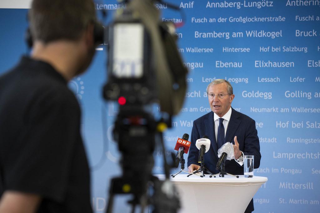 """LH Wilfried Haslauer: """"Das Dogma ,keine Neuverschuldung"""