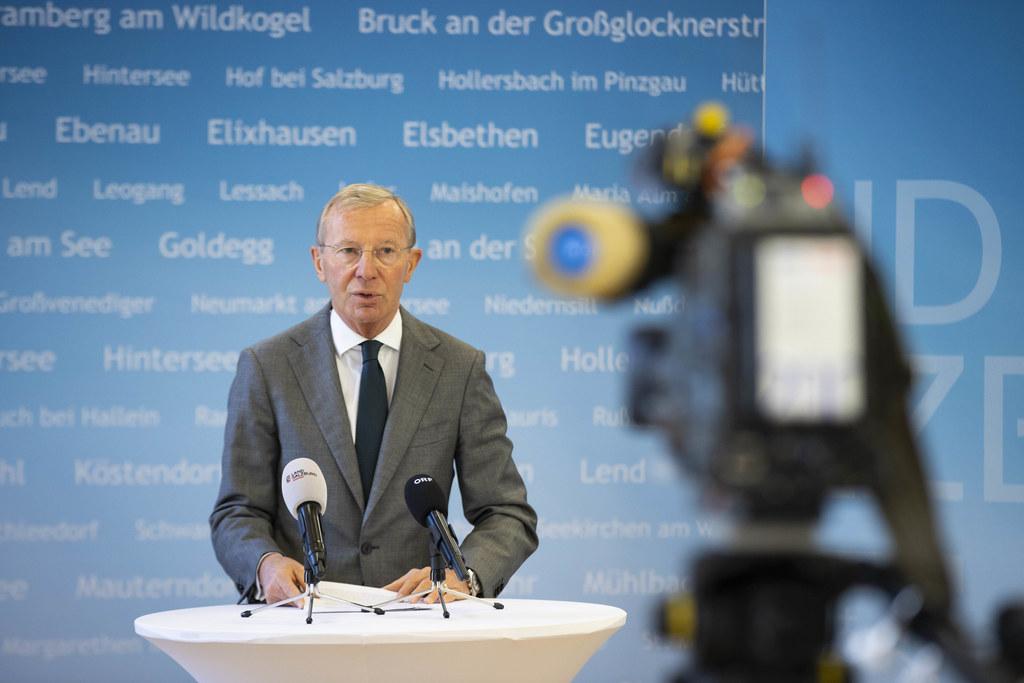 LH Wilfried Haslauer: Wir lassen unsere Gemeinden nicht im Stich.