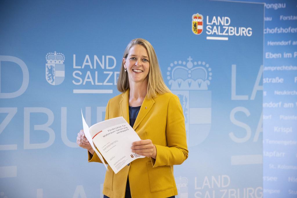 LR Andrea Klambauer: Fürs Sanieren gibt es jetzt mehr Geld vom Land.