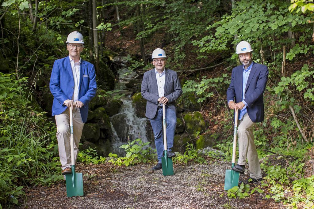 Baubeginn für Trinkwasserleitung auf den Gaisberg