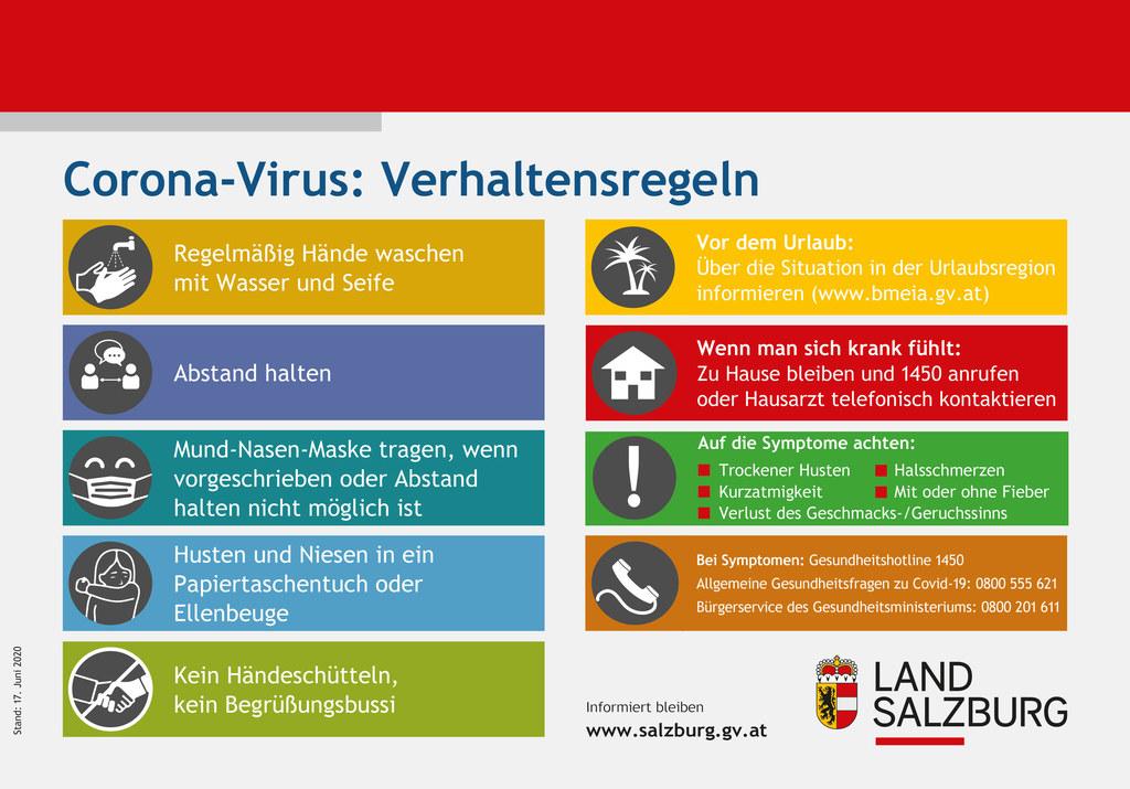 Diese Regeln können vor einer Covid-19-Infektion schützen. Einfach, für alle gültig und effizient.