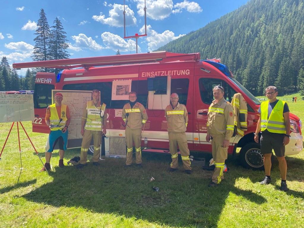 Feuerwehren aus fünf Lungauer Gemeinden waren beteiligt.