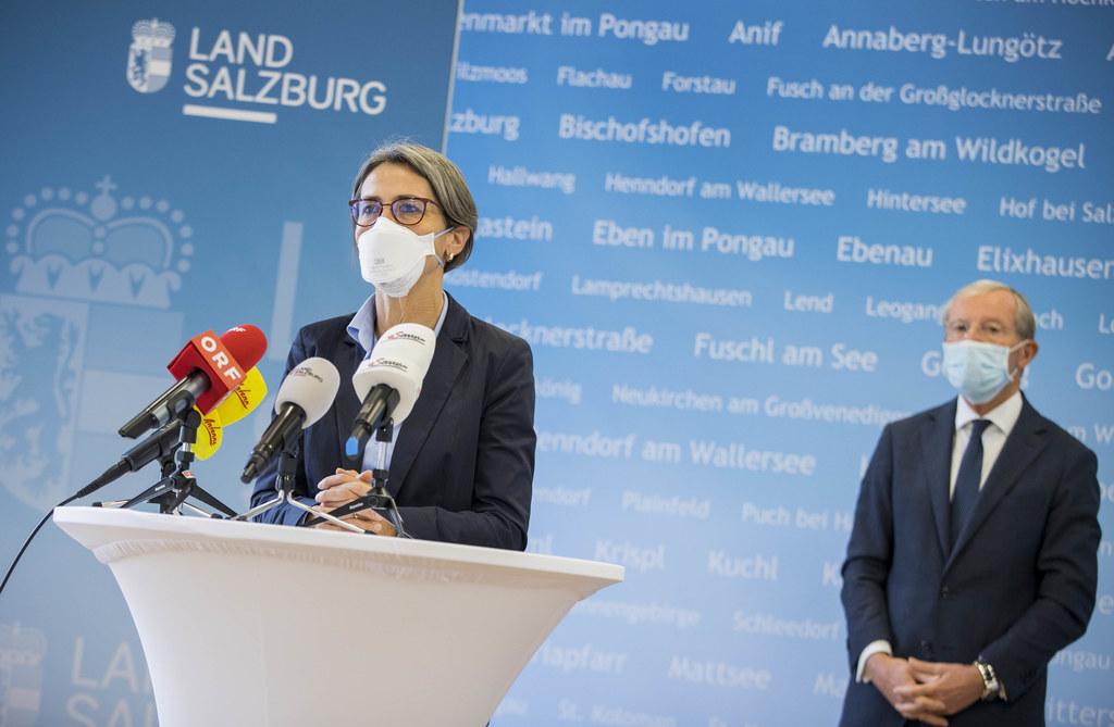 """Landessanitätsdirektorin Petra Juhasz: """"Auf den sozialen Medien wird sogar dazu aufgerufen, sich nicht an die Maßnahmen zu halten. Das ist grob fahrlässig, denn es geht um die Gesundheit der Bevölkerung."""""""