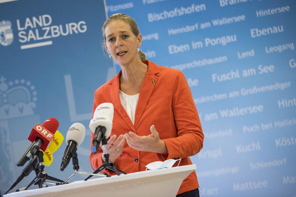 """LR Andrea Klambauer brachte es auf den Punkt: """"Die Maßnahmen sind richtig und notwendig."""""""
