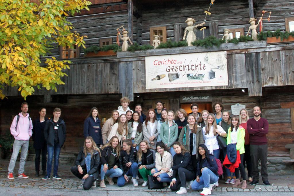 Im vergangenen Herbst wurden die Gerichte mit Geschichte von den Radstädter BORG-Schülern präsentiert.