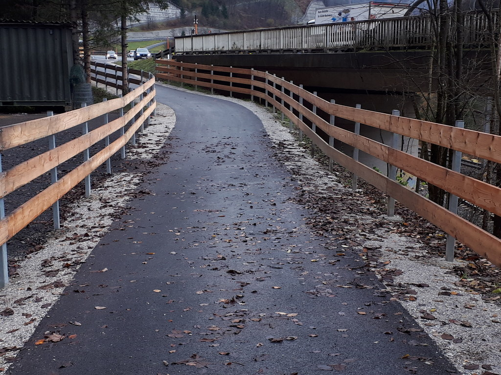 Durch einen Lückenschluss bei Taxenbach wird der Tauernradweg noch attraktiver.