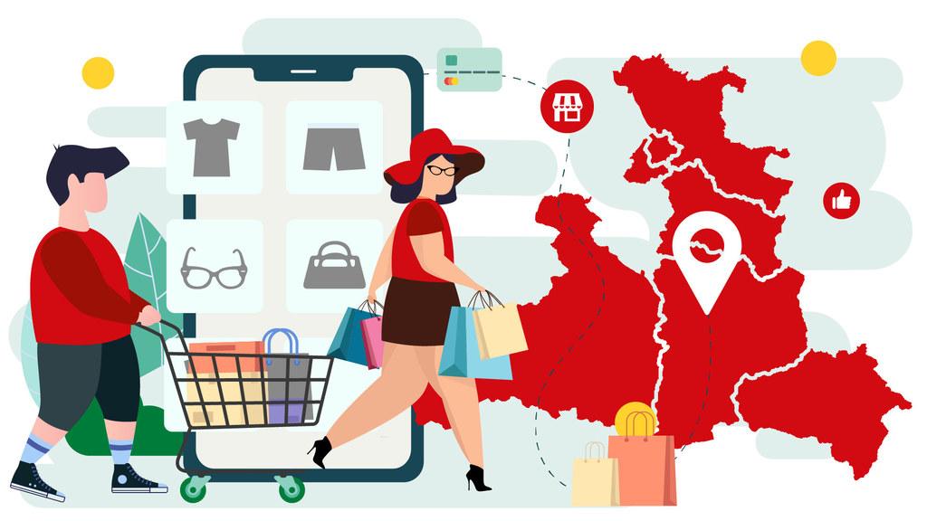 Sujet Salzburger Online-Shopping