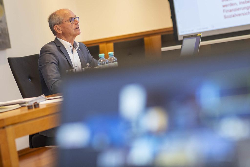 LH-Stv. Christian Stöckl hatte heute den Vorsitz bei der virtuellen Konferenz der Gesundheitsreferenten. Im Fokus: die Corona-Pandemie und deren Bewältigung.