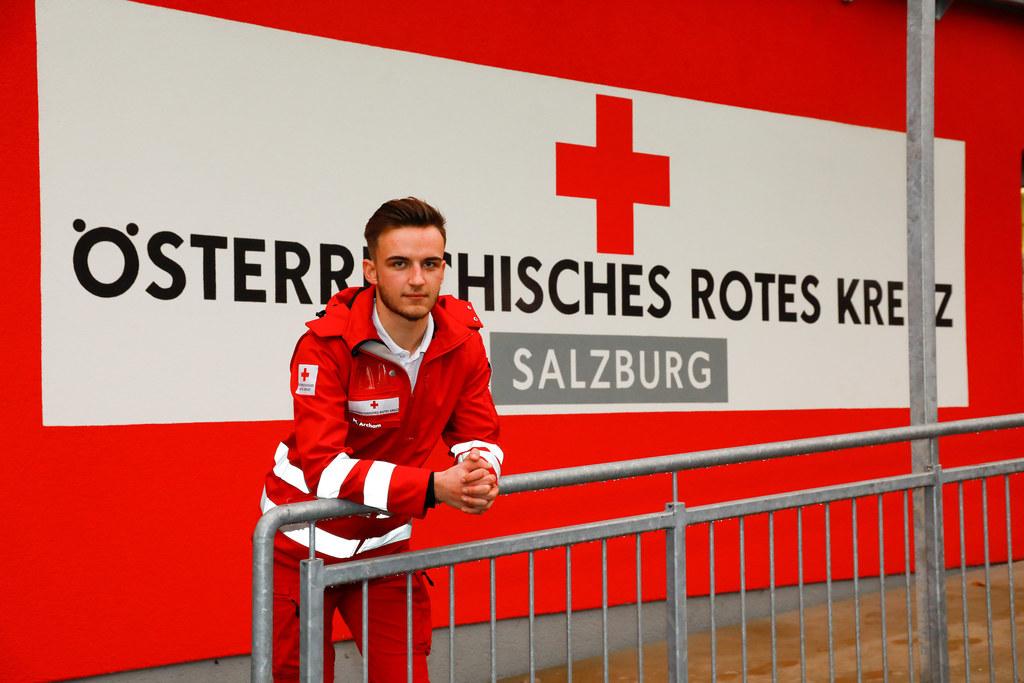 Der 19-jährige Zivildiener und gelernte Mechatroniker aus St. Johann wird auch danach dem Roten Kreuz als Freiwilliger treu bleiben.