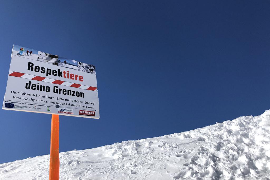 """""""Respektiere deine Grenzen"""" ist eine Initiative von Landesrat Josef Schwaiger und begleitet die Salzburgerinnen und Salzburger schon seit Jahren."""