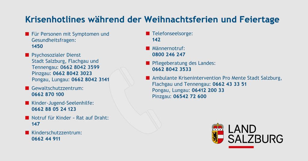 Die wichtigsten Hotlines und Telefonnummern für Kummer während der Weihnachtsfeiertage kurz zusammengefasst.