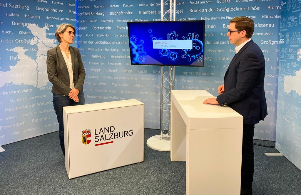 Landessanitätsdirektorin Petra Juhasz erläutert im Studiogespräch, was die Behörden wegen der neuen Virusmutationen unternehmen.