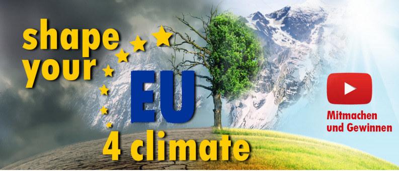 """Zum Wettbewerb """"#Shape your EU 4 climate"""" können sich Salzburger Schulklassen noch bis 12. März anmelden."""