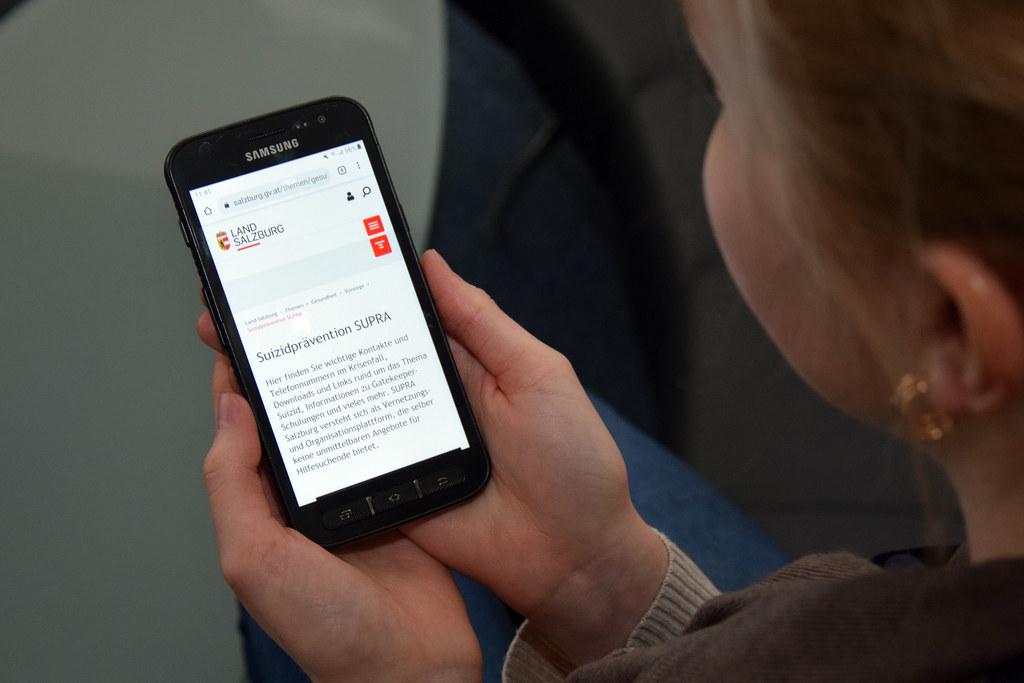Das Informationsangebot zum Thema Suizidprävention auf der Webseite des Landes wurde überarbeitet.