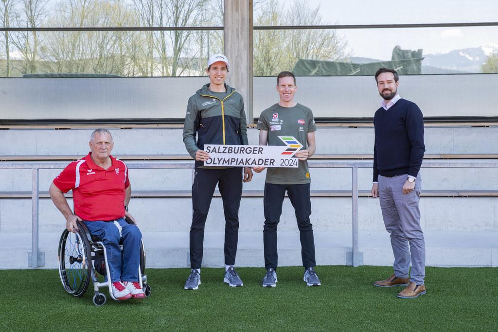 Die Pinzgauer Mannschaft für Paris 2024 geht top-motiviert in die Wettkampfvorbereitung.