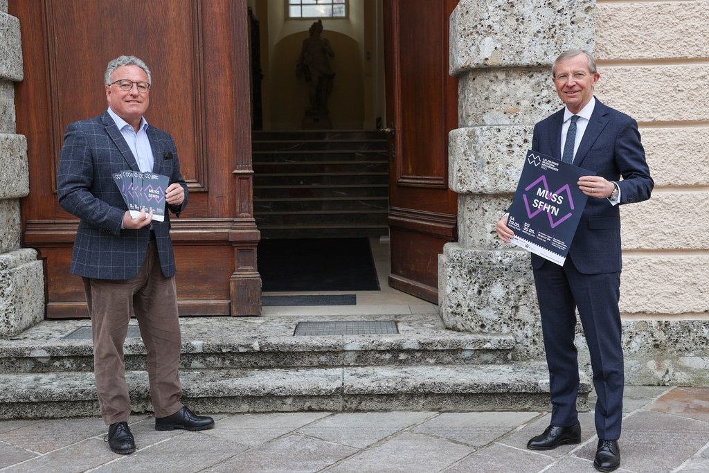 LH-Stv. Heinrich Schellhorn und LH Wilfried Haslauer laden ein zum Museumswochenende am 29. und 30. Mai.