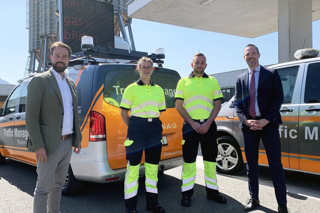Traffic Manager sorgen im Sommer für fließenden Verkehr