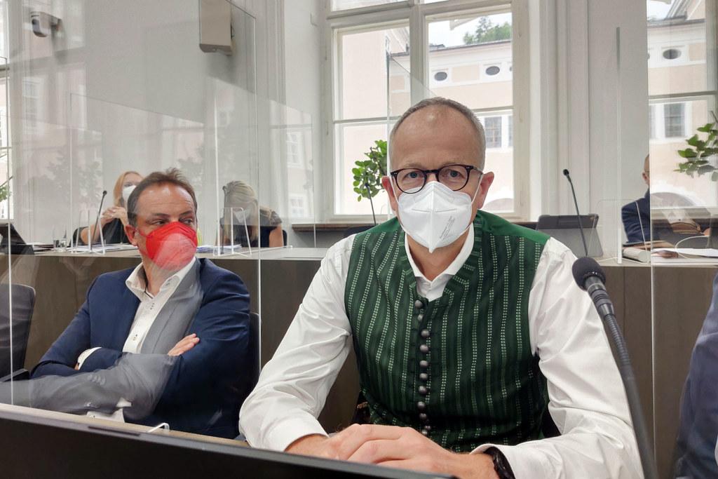 """Für die Serie """"Aus dem Landtag"""" beantwortet LAbg. Manfred Sampl von der ÖVP fünf Fragen rund um das politische Tagesgeschäft und sein Privatleben."""
