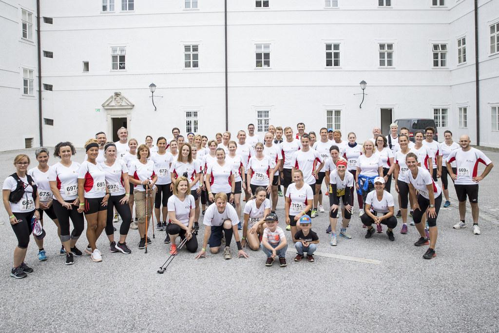 Dieses Jahr sind 48 Landes-Teams mit insgesamt 144 Landesbediensteten bei Salzburgs größter Fitnessveranstaltung mitgelaufen.