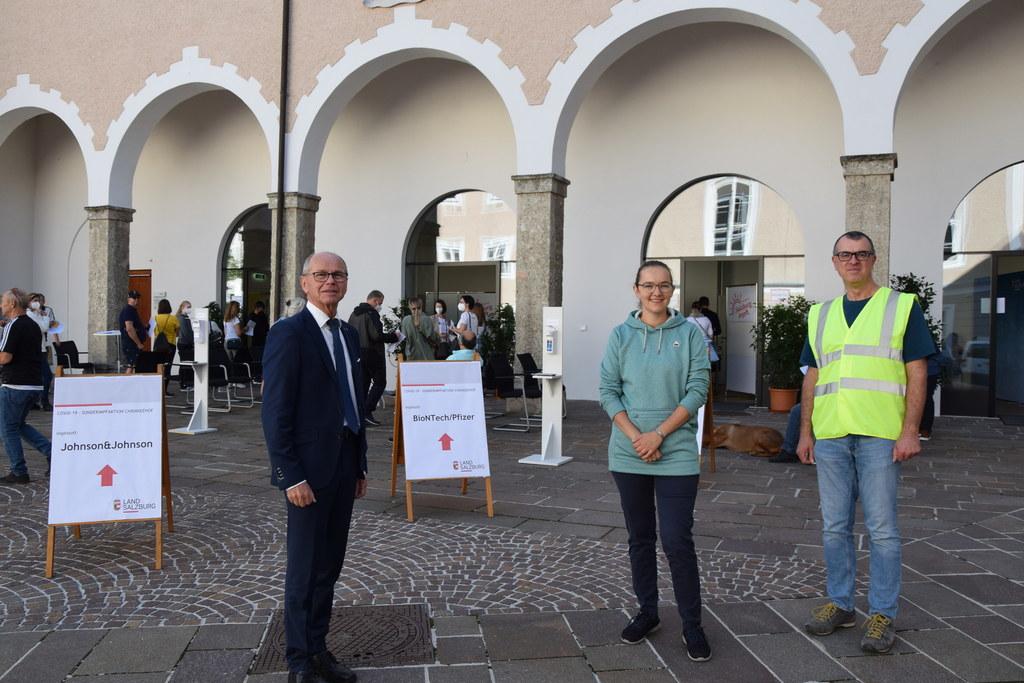 Corona: Salzburg startet mit Ruperti-Impftag in den Herbst